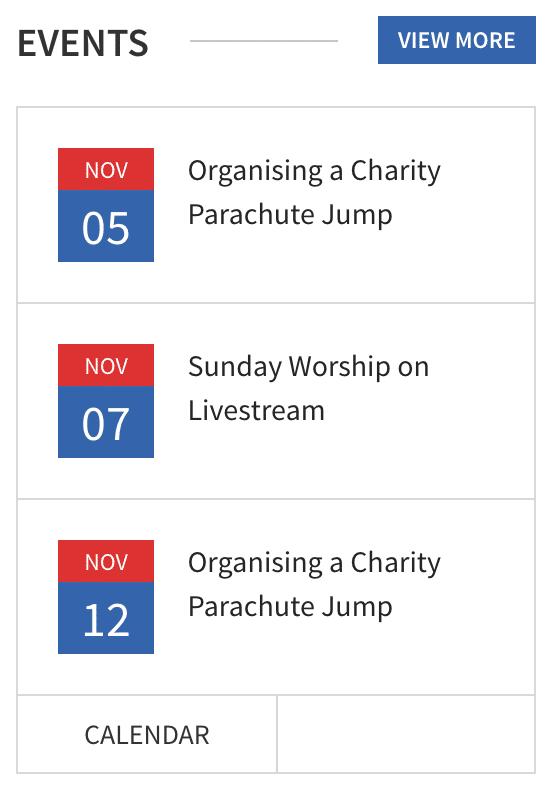 events-widget