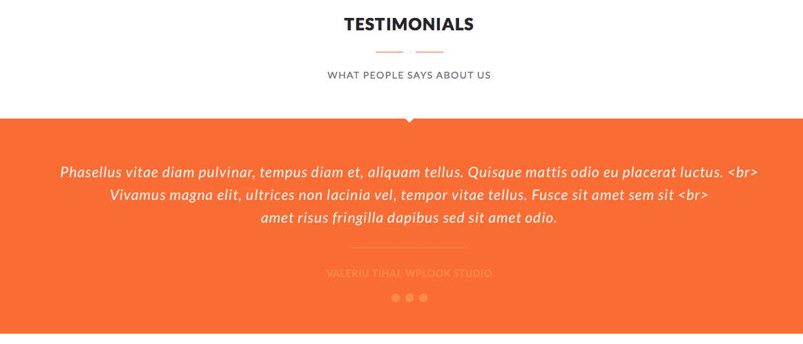 Testimonials for your website