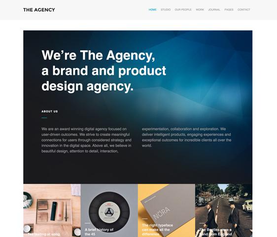 The Agency WordPress Theme