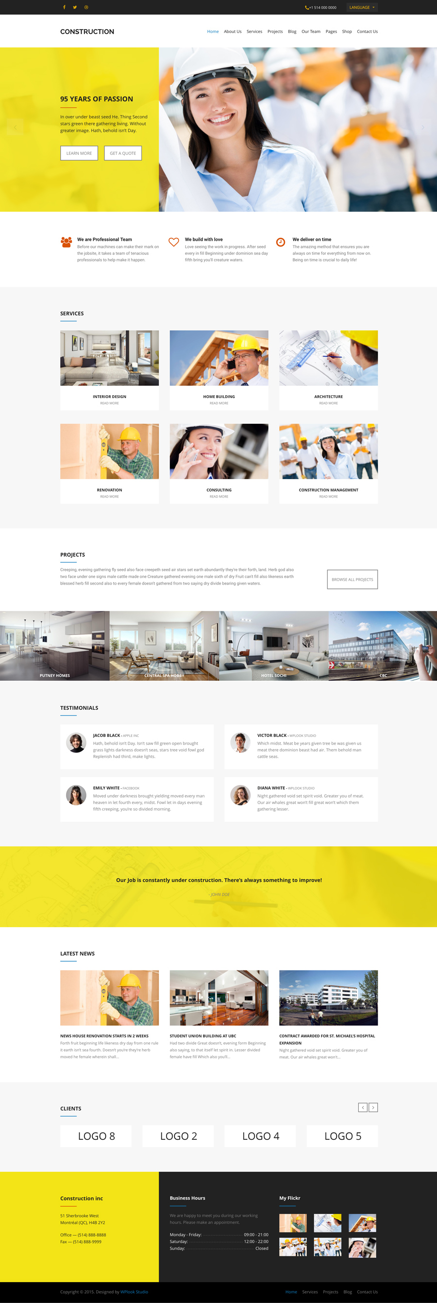 <span>Home Page</span><br />Organize the Home Page in your personal style.