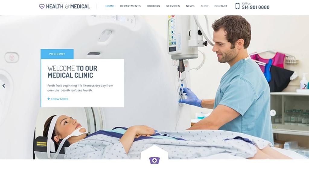Health&Medical WordPress Theme