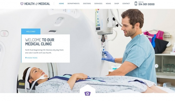 Health&Medical WordPress Theme