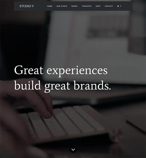 Studio 9 WordPress Theme