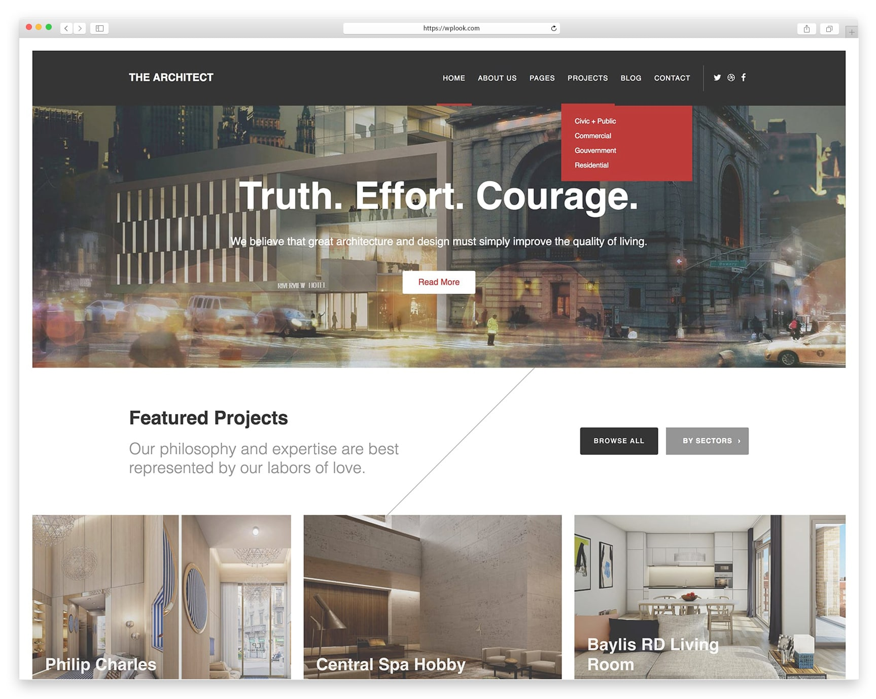 Best WordPress Themes for Architects - The Architect