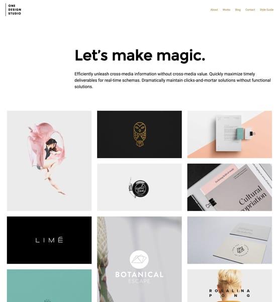 One Design Studio WordPress Theme