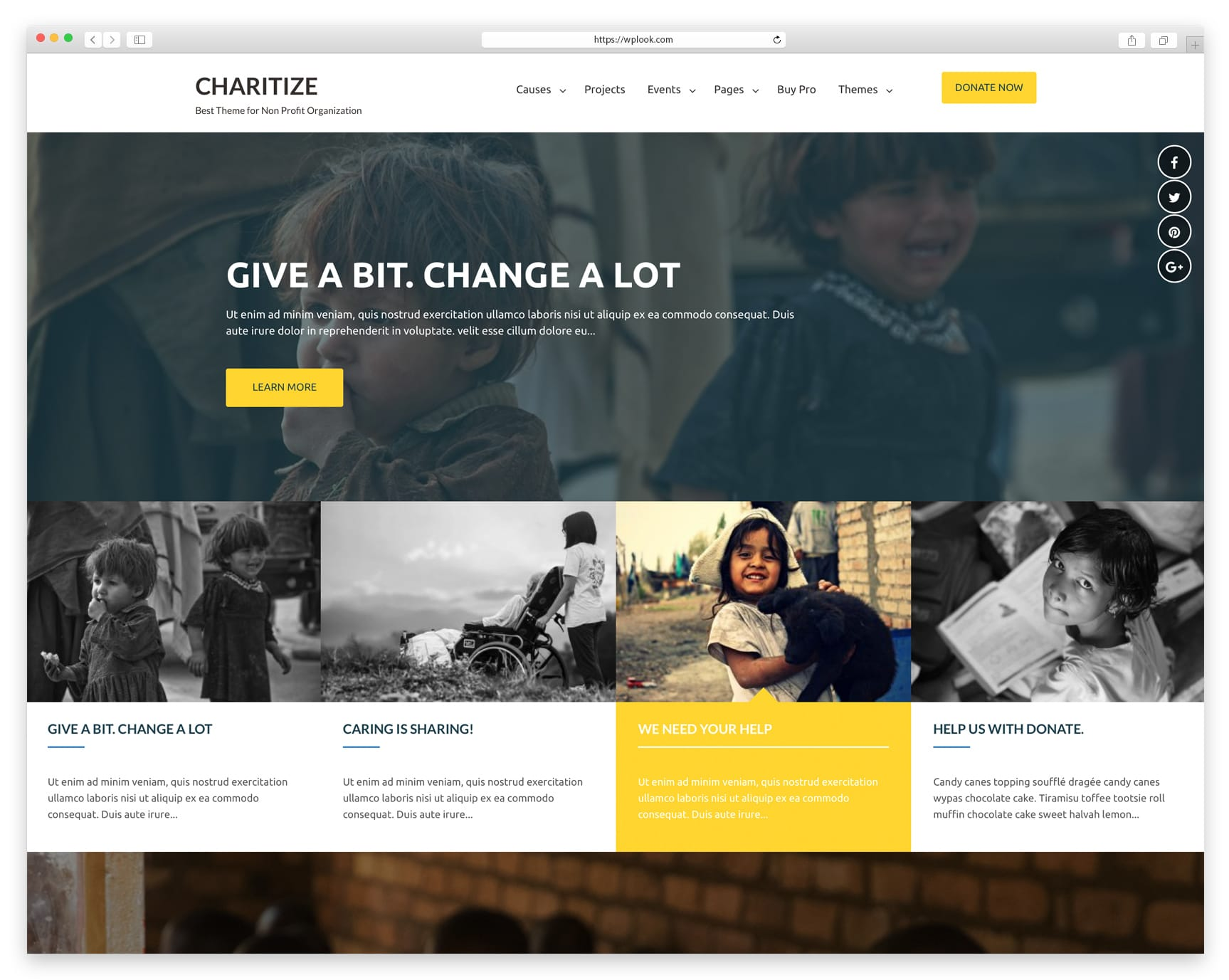 2019 Best Free WordPress Themes for Charity/Nonprofit - WPlook Themes