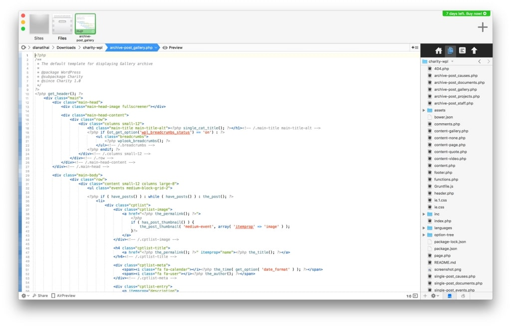 Coda Code Editor