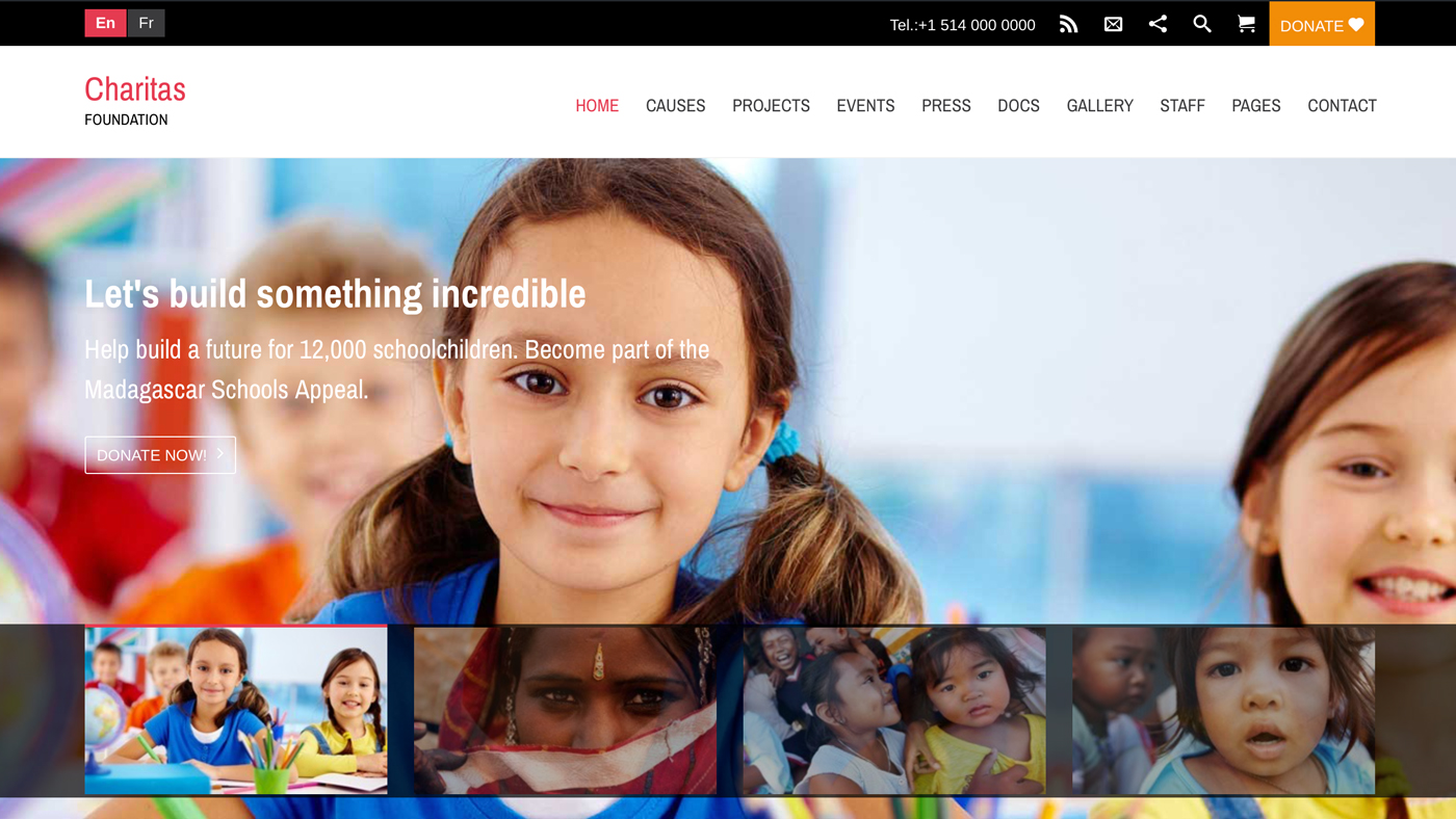 2021 Best Free Wordpress Themes For Charity Nonprofit Wplook Themes