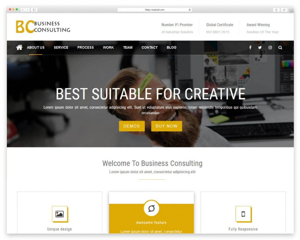 BC Business Consulting - Free Responsive WordPress Theme