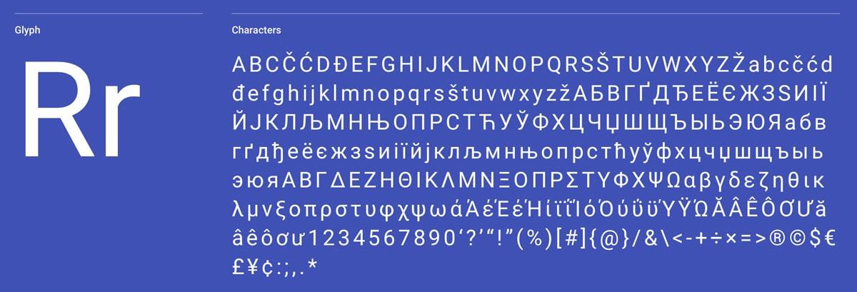The font known as 'ms sans serif'.
