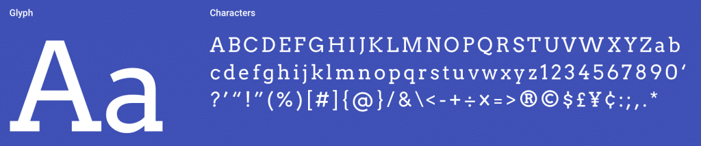 Arvo Serif Font