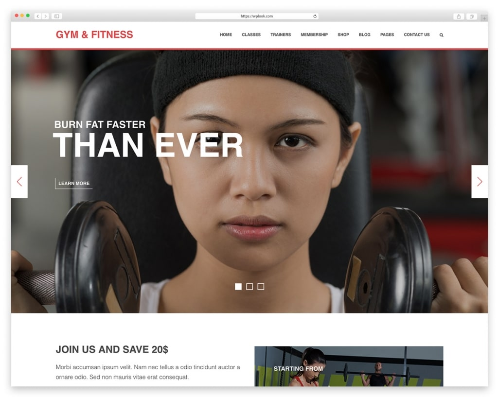 Gym & Fitnes