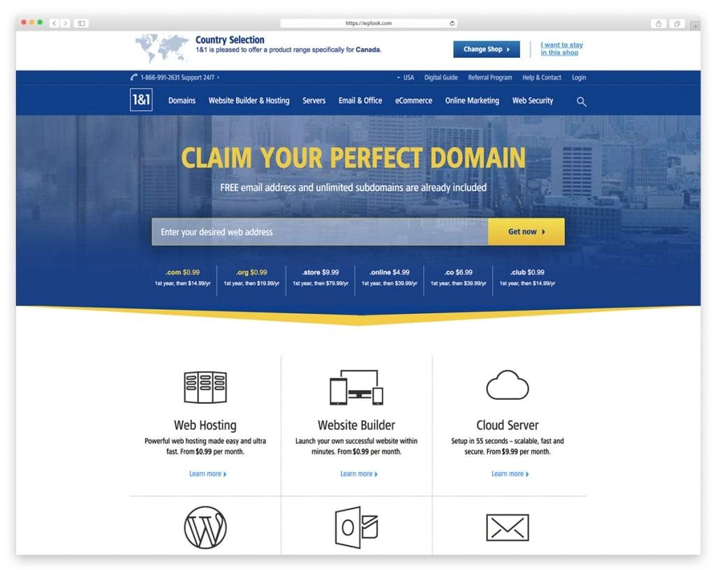 1&1 - Domain Name