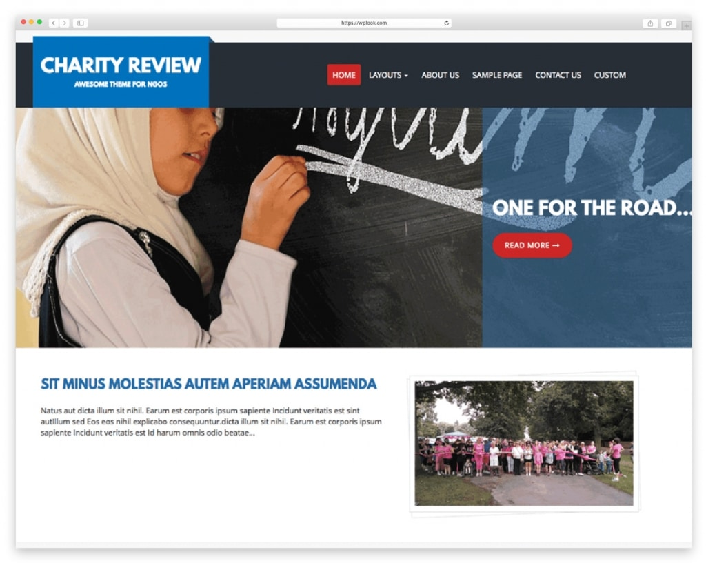 Charity Review Free WordPress Theme for Non-profit Organizations