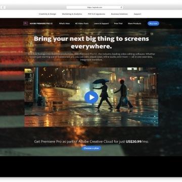 Adobe Premiere PRO CC 0- Video Editing Software