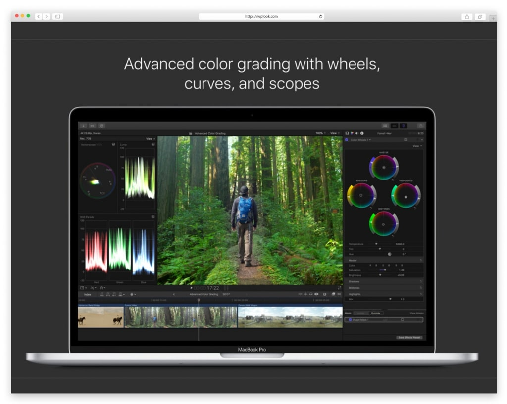 Apple Final Cut Pro - Video Editing
