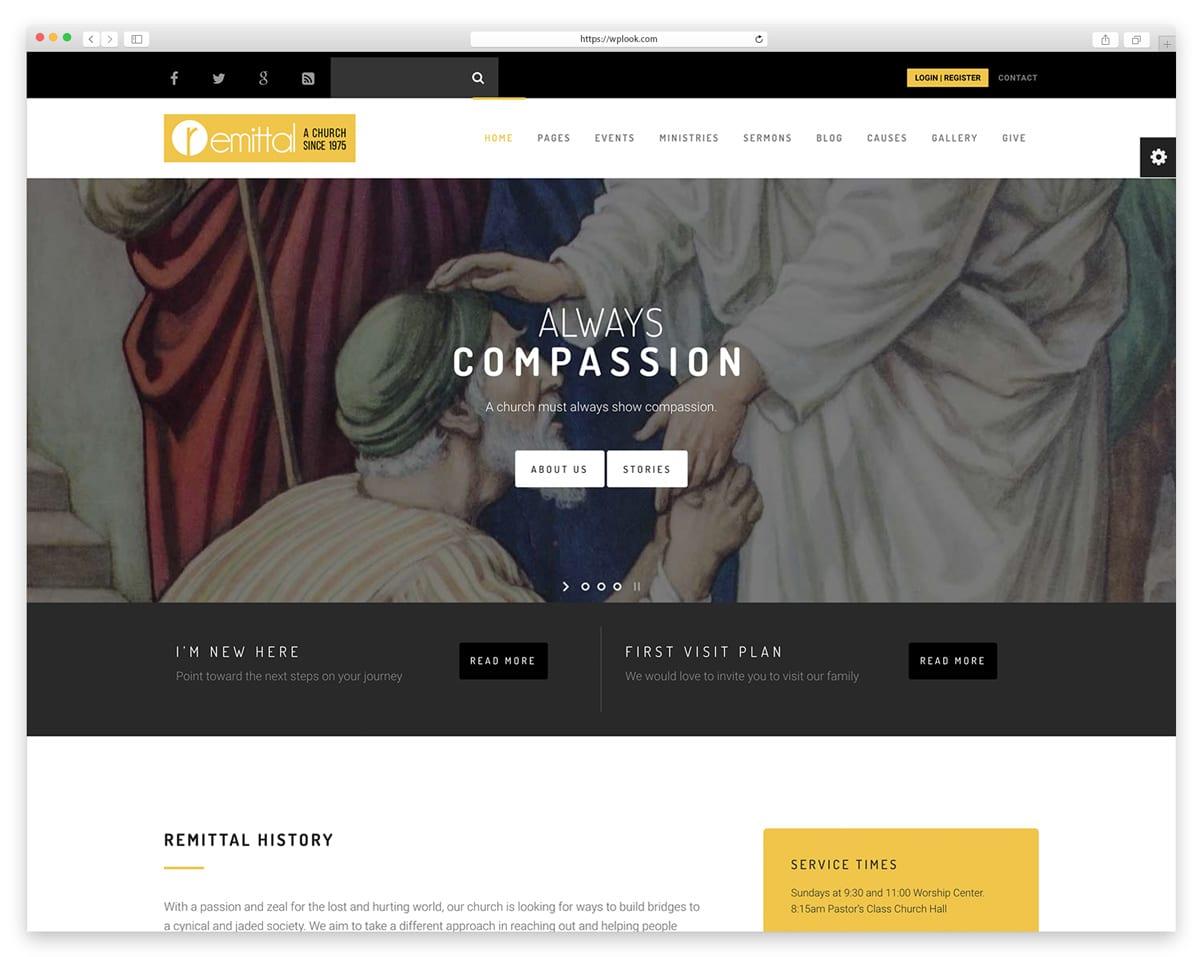 Church Suite - WordPress Theme