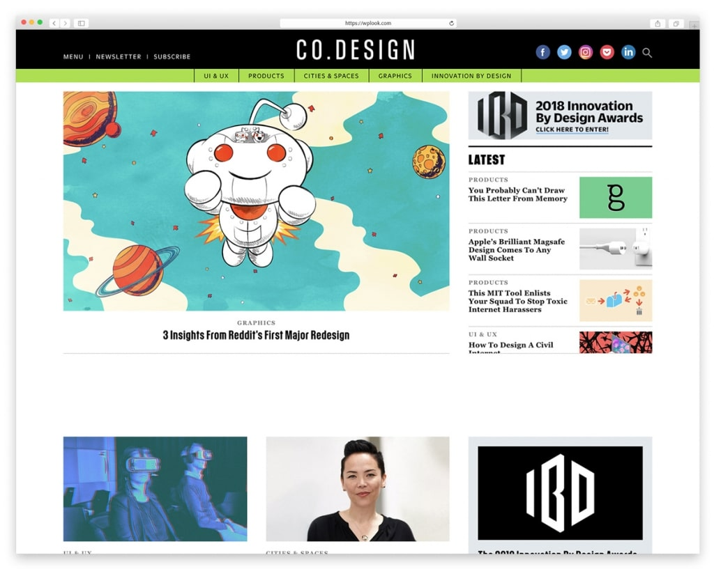 Co. Design - Design Blog