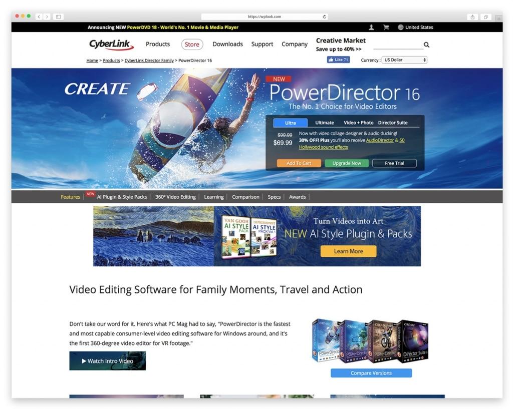 PowerDirector by Cyberlink