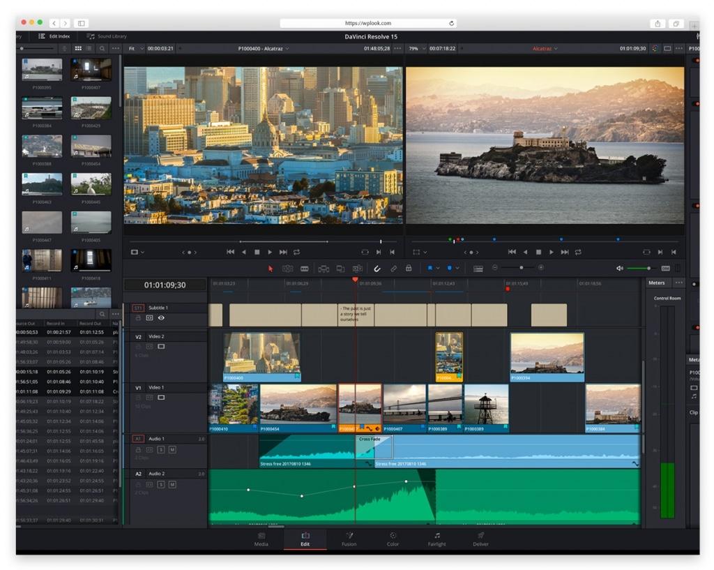 DaVinci Resolve - Video Editing