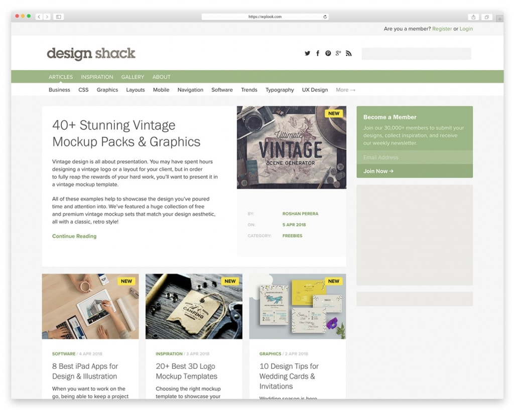 Design Shack - Design Blog