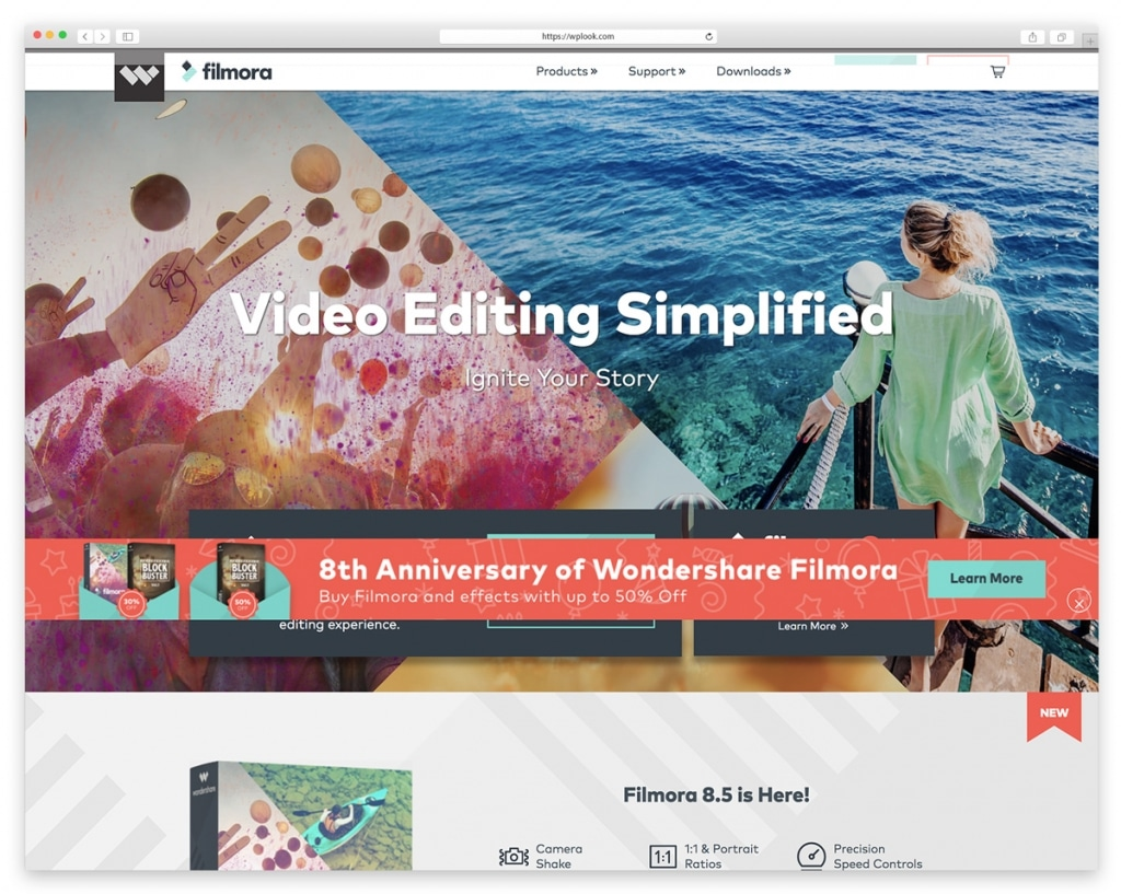 Wondershare Filmora - Video Editing Software