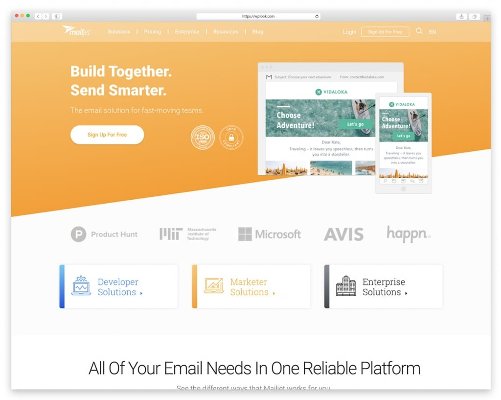 Mailjet - Email Newsletter Tool