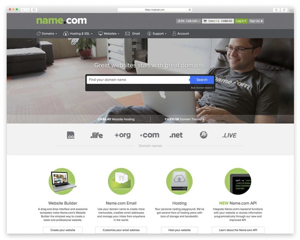 Name.com - Website Domain Name