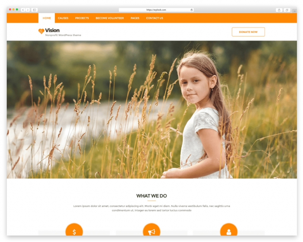 Vision Lite Free WordPress Theme