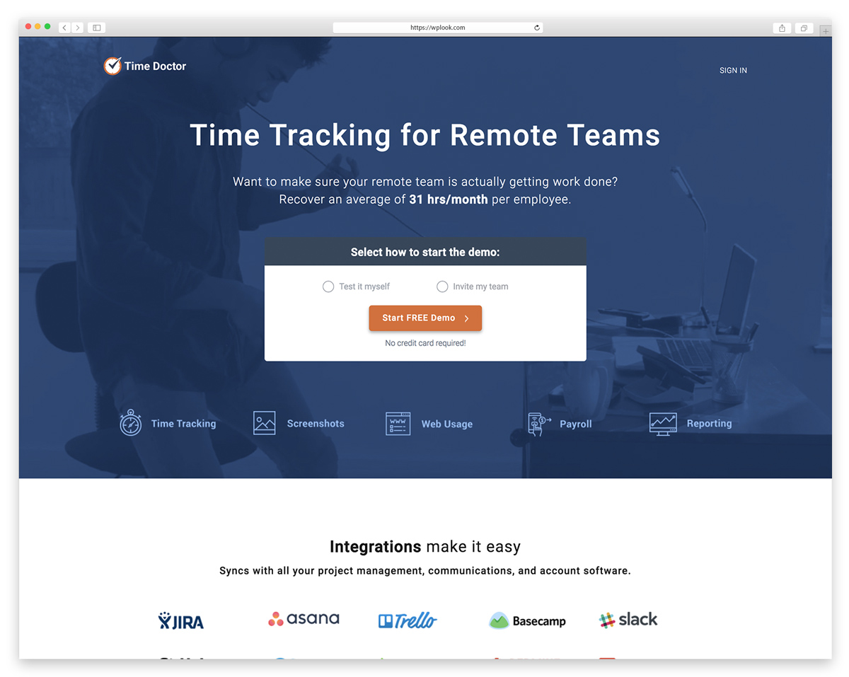 Time Doctor - Time Tracking for Remote Teams
