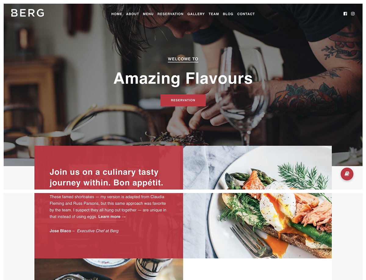Best WordPress Restaurant Themes In 2018 Wplook Themes