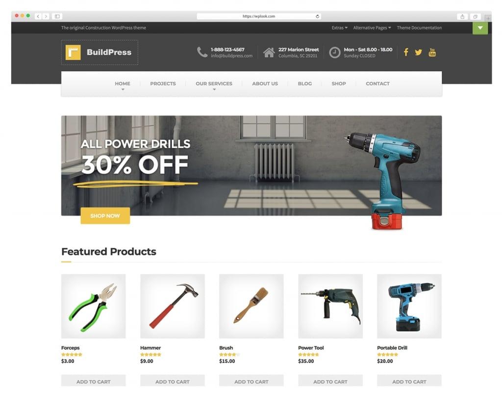 BuildPress - Multi-purpose Construction Theme