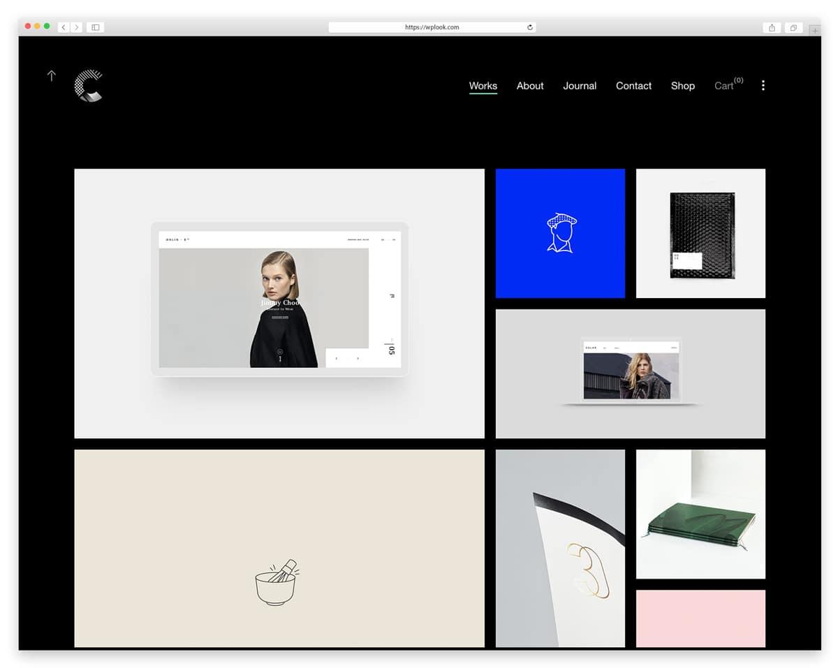 Calafate - Portfolio Creative WordPress Theme