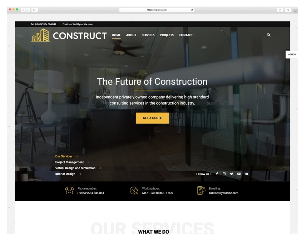 Newspaper - Construction WordPress Theme