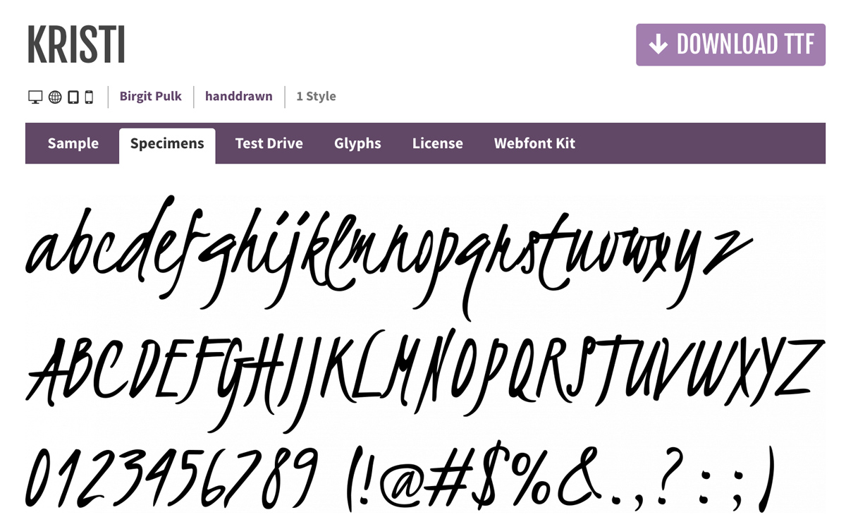 20 Best Free Handwritten Fonts for Designers - WPlook Themes