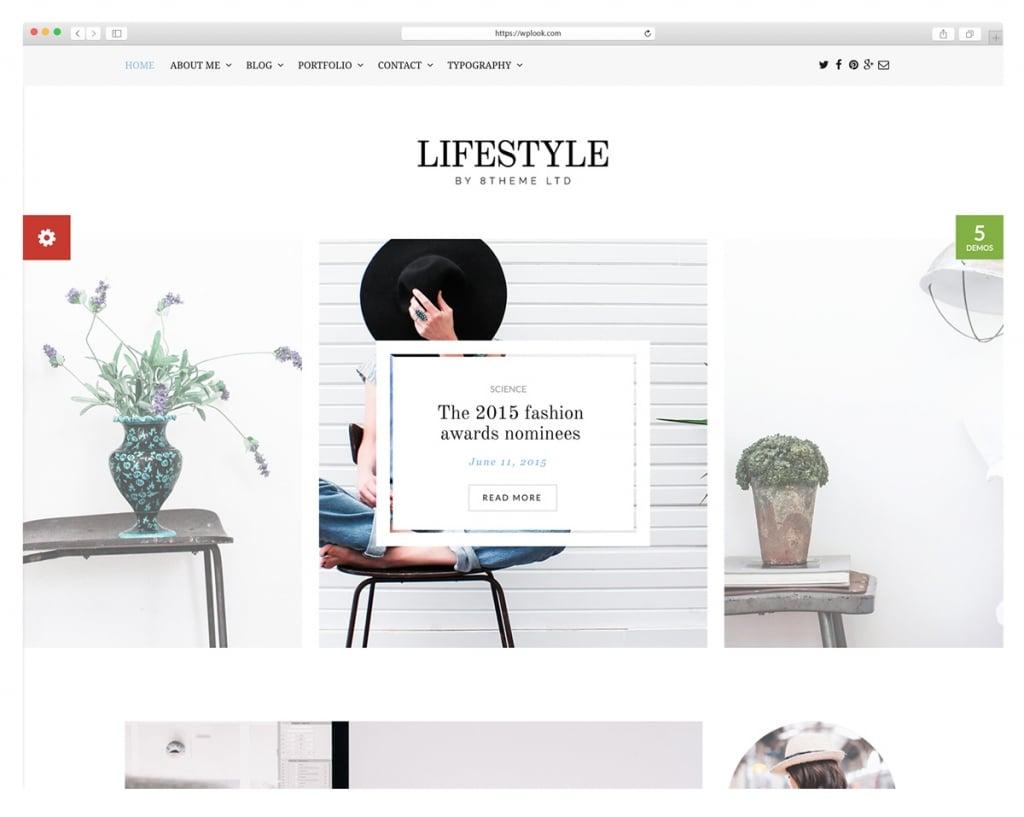 Lifestyle - WordPress Blog Theme