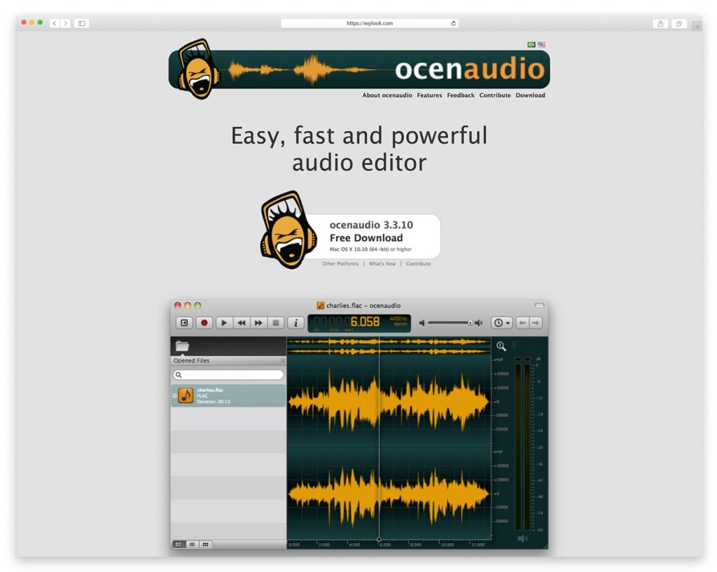 Oceanaudio - Easy, Fast and Powerful Audio Editor