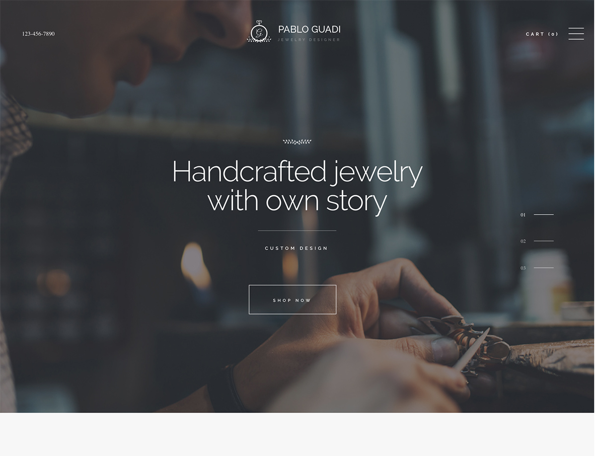 Pablo Guadi - Jewelry Designer & Handcrafted Jewelry Online Shop