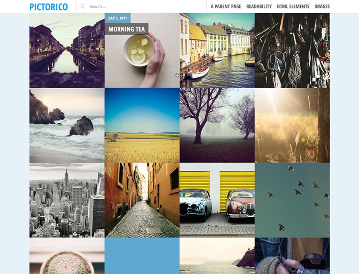 Pictorico - Free WordPress Theme for Travel
