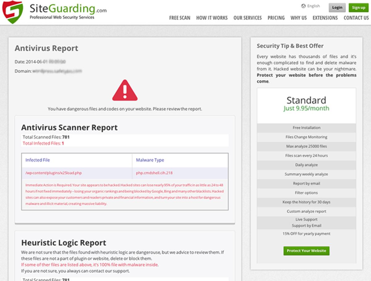 website security scan tools
