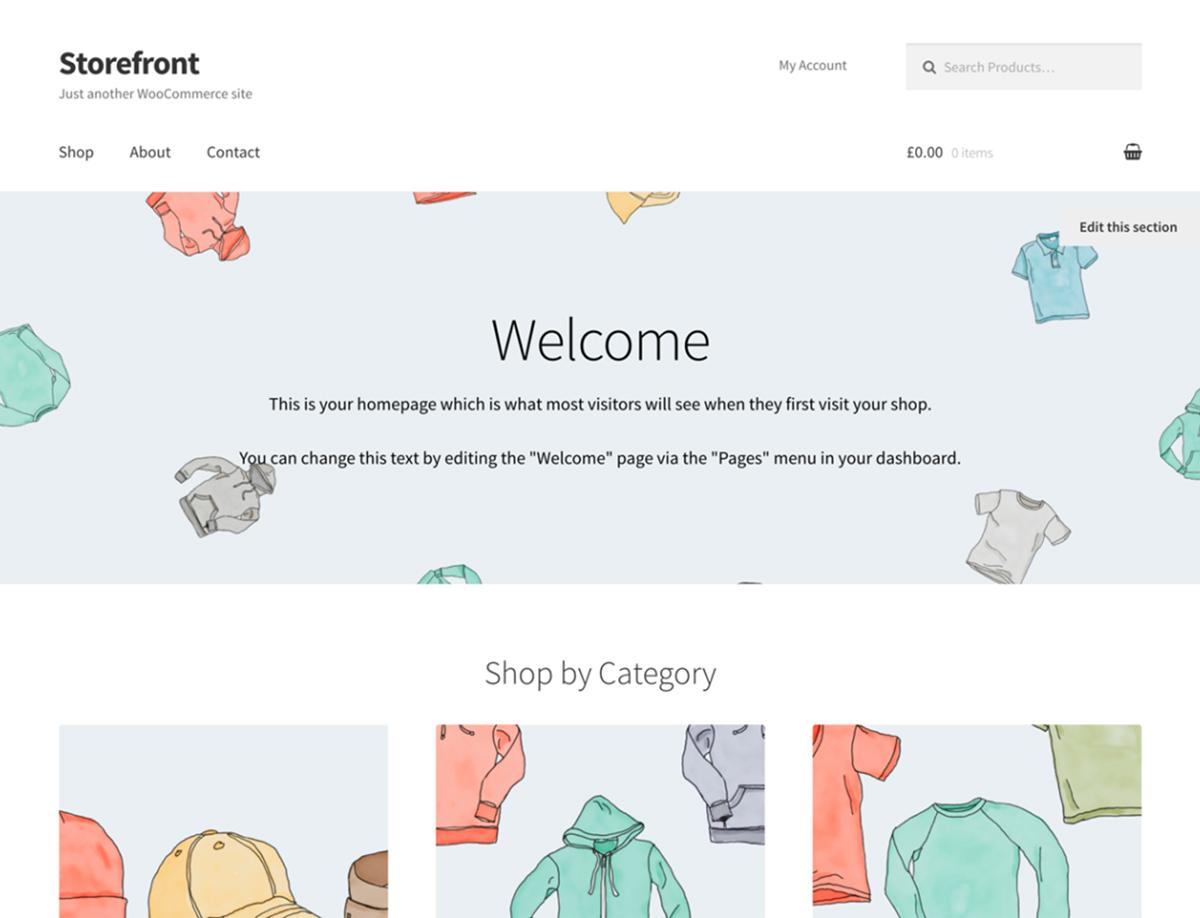 Storefront - Best Free WordPress Theme