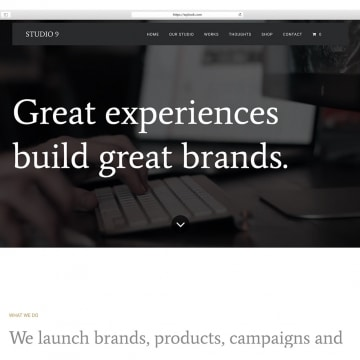 Studio 9 - WordPress Theme for Photographs