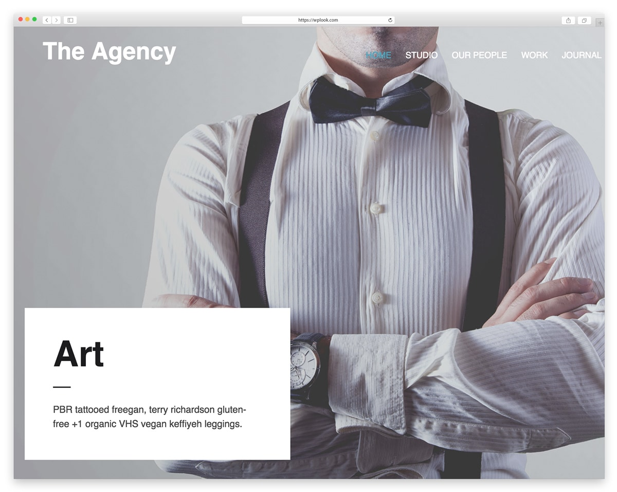 The Agency - Digital Creative WordPress Theme