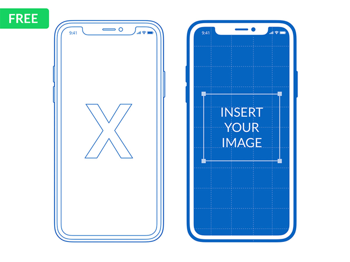 iPhone X Mockup for PowerPoint & Keynote