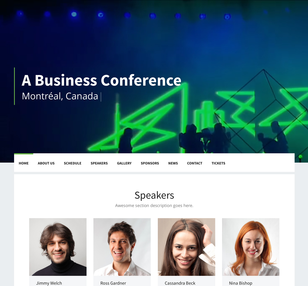 Event WordPress Theme for Conference
