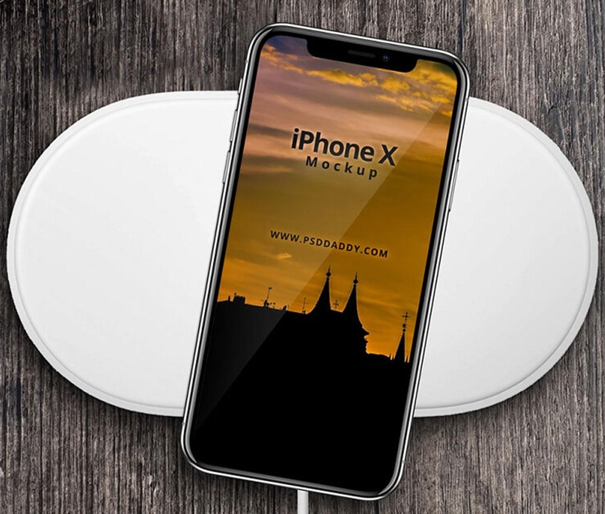 Phone X Free Mockup PSD