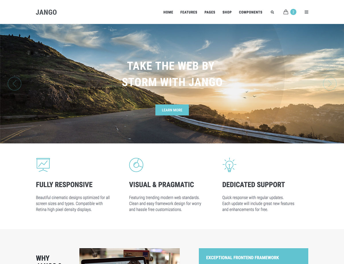 Jango - HTML5 Template