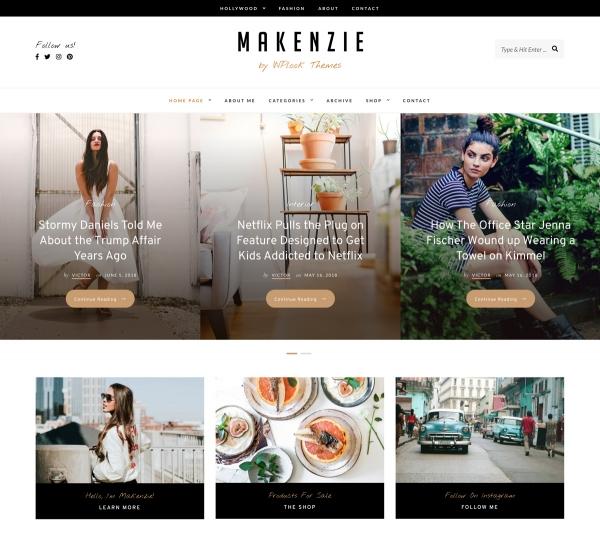 Makenzie - Fashion & Lifestyle Blog