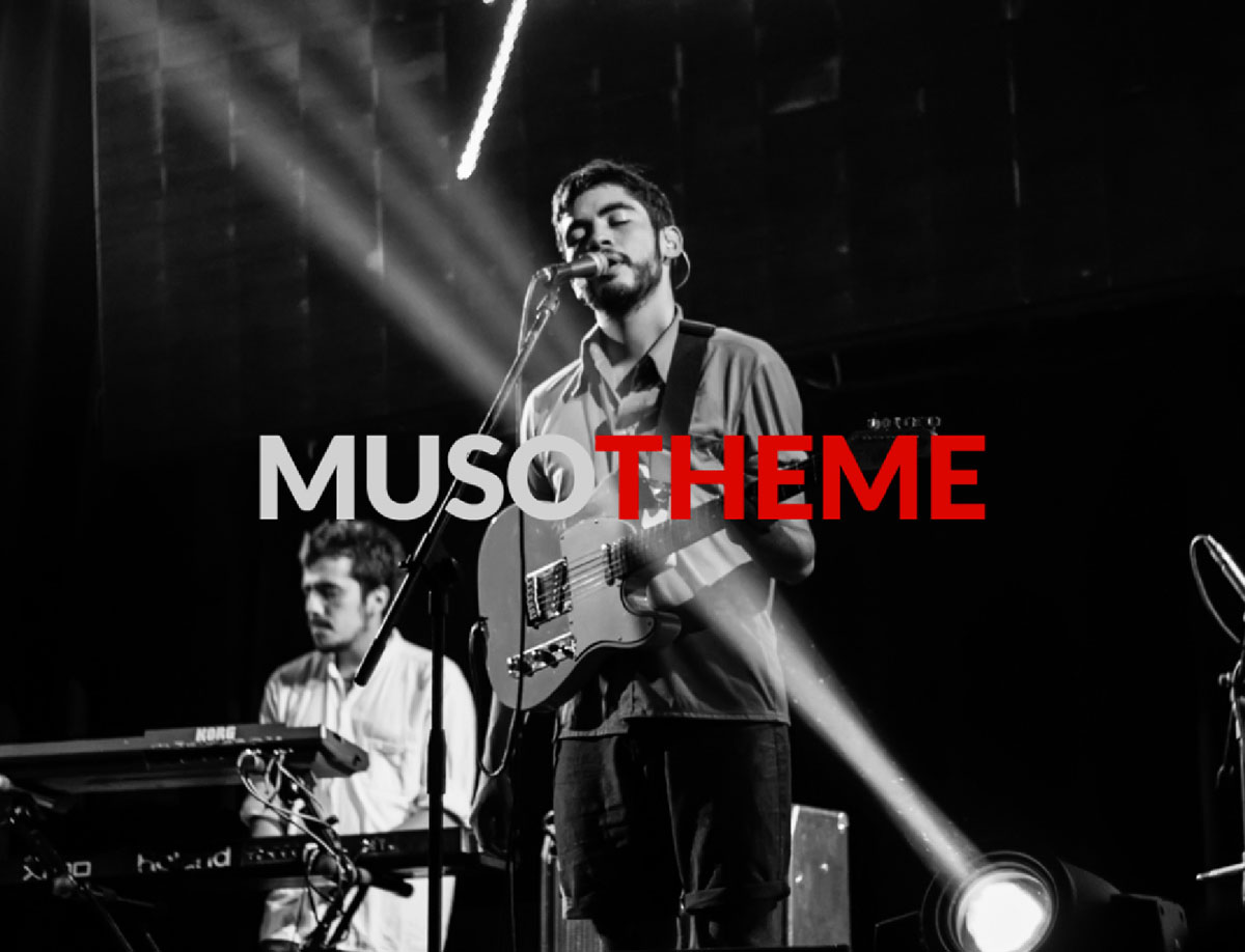Must - Free WordPress Theme for Musicians & Bands