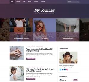 My Journey - Lifestyle WordPress Theme